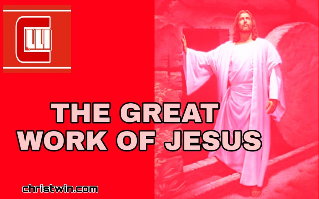 Doing greater work than Jesus, what are the greater work jesus did