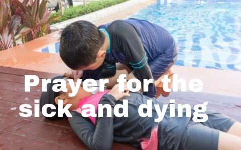 20 prayers for the sick and and dying