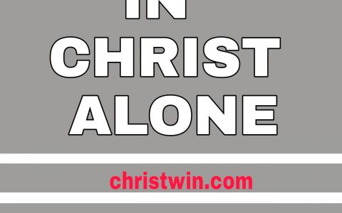 In christ alone lyrics and chords