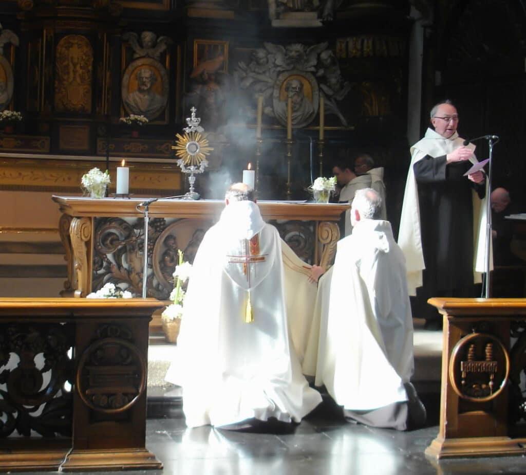 Catholic adoration prayers