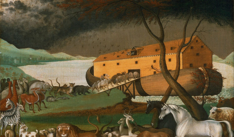 How long did it take Noah to build the Ark