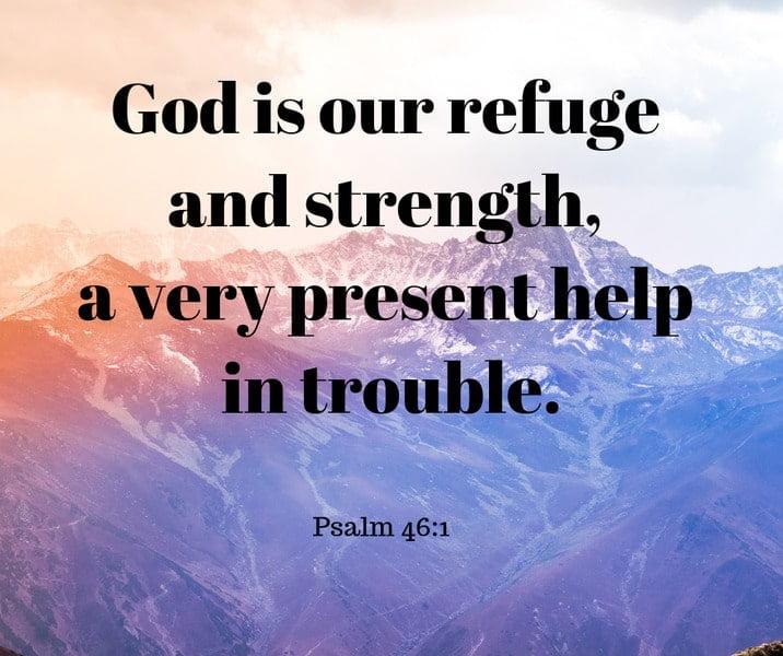 Psalm 46: 1-3